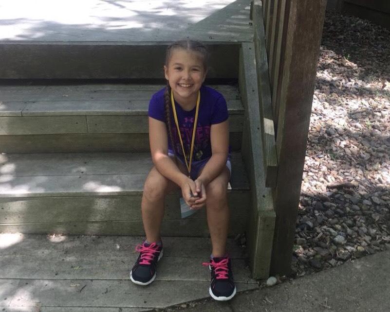 Gemma, age 8, T1D, Indiana