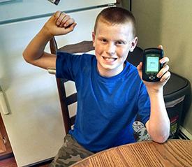 Bradley, age 9, T1D, Ohio