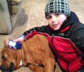Brayden, age 9, T1D.