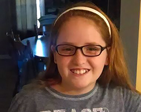 Skylar, age 11, T1D, Tennessee