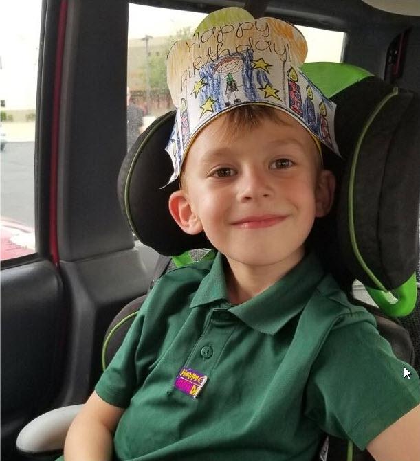 Ryan, age 6, T1D, Arizona