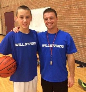 Will and His Coach